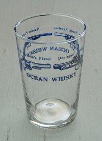 OCEAN Whisky   ピストル  ブループリント  HOYA GLASS