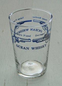 画像1: OCEAN Whisky   ピストル  ブループリント  HOYA GLASS