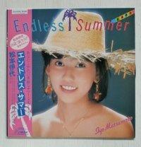 "LP/12""/Vinyl   エンドレス・サマー  松本伊代  (1983)  フォト付歌詞カード、帯付  VICTOR"