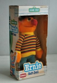 SESAME STREET  Ernie アーニー   soft doll  PLAYSKOOL