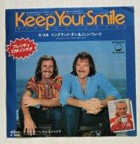 """EP/7""""/Vinyl  ブレンディ CMソング   Keep Your Smile  ハリウッド・ヘッケル&ジャイヴ  イングランド・ダン&ジョン・フォード  (1979)   BIG TREE"""