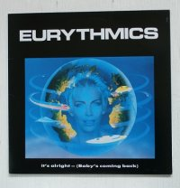 "12""/Vinyl /45 RPM   It's Alright (Baby's Coming Back)  Conditioned Soul  Tous Les Garçons Et Les Filles    Eurythmics  ユーリズミックス  (1986)  RCA  ‎ライナー  ‎"