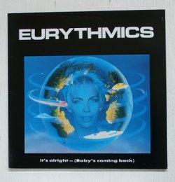 """画像1: 12""""/Vinyl /45 RPM   It's Alright (Baby's Coming Back)  Conditioned Soul  Tous Les Garçons Et Les Filles    Eurythmics  ユーリズミックス  (1986)  RCA  ライナー  """