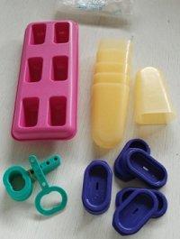 タッパーウェア  ICE TUPS  アイスキャンデーセット   6本用  カラー