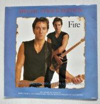 "12""/Vinyl  SPECIAL 5-TRACK EDITION  Fire  ブルース・スプリングスティーン&Eストリート・バンド  (1987)  CBS"