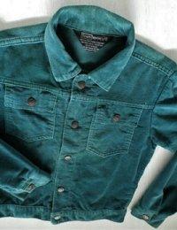 Sears(シアーズ)  BOYSWEAR(キッズメンズ) コーデュロイジャンパー   ビリジアン(グリーン)  size: 12 (10-12歳)