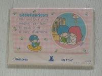 SANRIO サンリオ   LittleTwinStars リトルツインスターズ  7ENVELOPES 封筒7枚セット