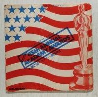 CINE-SHEET No.2  現地録音! 45th ANNUAL ACADEMY AWARDS  ★第45回アカデミー賞授賞式  ROADSHOW ロードショー 7月号 第1付録   (1973)