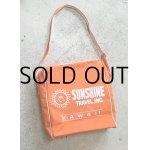 画像: トラベルバッグ SUNSHINE TRAVEL, INC. HAWAII color: オレンジ