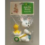 画像: Young Times  Ride Em Bunny  Squeeze Toy   イースターラバードール  スクイージートイ
