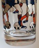 画像: TOYOTA プリントグラス スポーツ サッカー/テニス 各1個