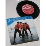 """画像: EP/7""""/Vinyl  SEVENTEEN SERIES / 33r.p.m  遠い渚/キュン!キュン!キュン! /ついておいで/いつものところで シャープ・ホークス  (1967)   KING RECORDS"""