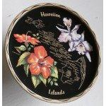 画像: Tin Souvenir Tray  Hawaiian Islands  ハワイアン  ティンサービングトレイ/お盆