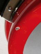 画像: マルビシ カラーホーローウエア 両手鍋 レッド Ø26cm  PIC(ゆげぬき付き)