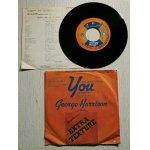 """画像: EP/7""""/Vinyl  You(二人はアイ・ラブ・ユー) WORLD OF STONE(悲しみの世界) (1975)  ジョージ・ハリスン  apple"""