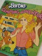 """画像: EP/7""""/Vinyl Barbie CAMPING ADVENTURE バービー キャンピング・アドベンチャー  SEE HEAR READ レコード付ストーリー塗り絵本 (1981)  Kid STUFF RECORDS"""