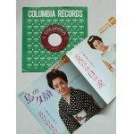"""画像: EP/7""""/Vinyl  島の夕顔  喜びの日の涙  美空ひばり  原信夫とシャープス・アンド・フラッツ (1967)  COLUMBIA"""