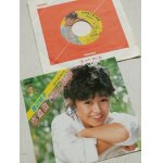 """画像: EP/7""""/Vinyl   赤道直下型の誘惑/バス・ストップ    渡辺桂子   (1984)   UNION"""