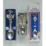 画像: souvenir spoon/ collecters spoon  スーヴェニアスプーン/ コレクターズスプーン  A. TEXAS  B. HAWAII  C. PITTSBURGH, PENNSYLVANIA  各1個