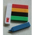 画像: 3M floppy disk MARKQ WORLDWIDE Sponsor  3Mフロッピーディスクノベルティーグッズ 1988 OLYMPIC GAMES  5色マーカー