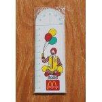 画像: McDonald's  日本マクドナルド  ドナルド  分度器付10cm定規