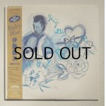 """画像: LP/12""""/Vinyl    Baby Blue    伊藤銀次   (1982)  Casaburanca Record and film worlds/ POLYSTAR  ブルーヴィニール仕様/帯/歌詞カード"""