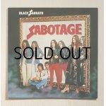 """画像: LP/12""""/Vinyl   来日記念盤  サボタージュ  ブラック・サバス  (1980)  nems  帯なし/ライナーノーツ&歌詞カードあり"""