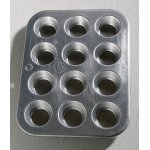 画像: United Aircraft Products   Muffinaire Junior Mini Muffin Pan  Made in USA    マフィンパン(12個仕様)