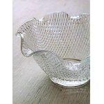 画像: プレスガラス小鉢 クリアー