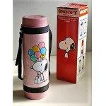 画像: SMOOPY   SPORTING JUG 0.75L   スヌーピー ピンク   魔法瓶 水筒