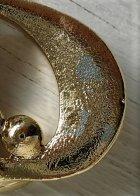 画像: ブローチ ゴールドカラーメッキ(メタル) フェイクパール/イミテーションパール