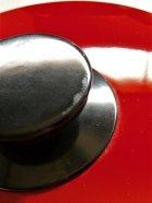 画像: 富士ホーロー ハニーウェア 両手鍋 レッド Φ20cm/2.3L