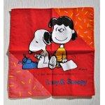 画像: ハンカチ  Lucy&Snoopy  ルーシー&スヌーピー
