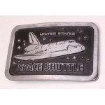 画像: UNITED STATES SPACE SHUTTLE  スペースシャトル  ベルトバックル  SOLID PEWTER
