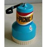 画像: ダイワ  PICNIC MATE ピクニックメイト 3人用 ナフキン、お皿、コップ、ボール、フォーク、ナイフ、スプーン、缶切  size:Φ11.5・H18・Φ7.5(cm)
