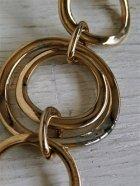 画像: ネックレス チェーン&イミテーションパールcolor:ゴールド size: L102cm