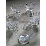 画像: 脚付きガラスカップ  各1個