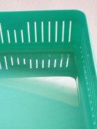 画像: バスケット/お弁当箱 WINDY ROAD ワーゲン&サーフボード color: エメラルドグリーン