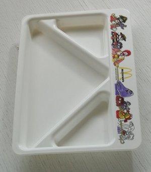 画像1: McDonald's   マクドナルド  ディバイデッドプレート  (1987)